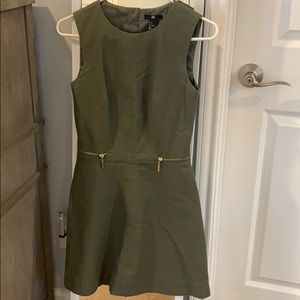 Cute Army green dress